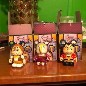 Disney Beauty and the Beast Vinylmations Set of 3